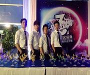 佛山路虎4s店3周年庆酒会 学员实践